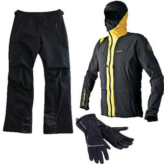 Im Webshop der Flugschule Magiclift findet man windgeschützte Jacken und Hosen sowie Handschuhe und Mützen