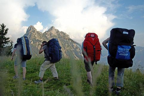 Walk and Fly: Beim Gleitschirmfliegen lässt sich Wandern und Fliegen auf ideale Weise kombinieren.